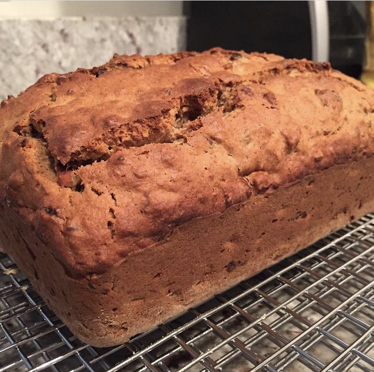 Rum Spiced Date Loaf